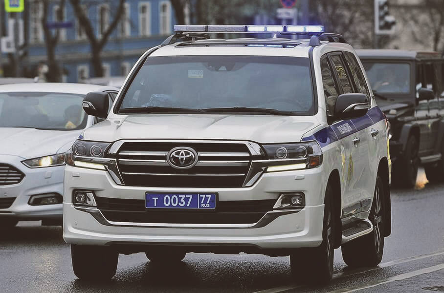 Toyota Land Cruiser 200, 2018 года выпуска