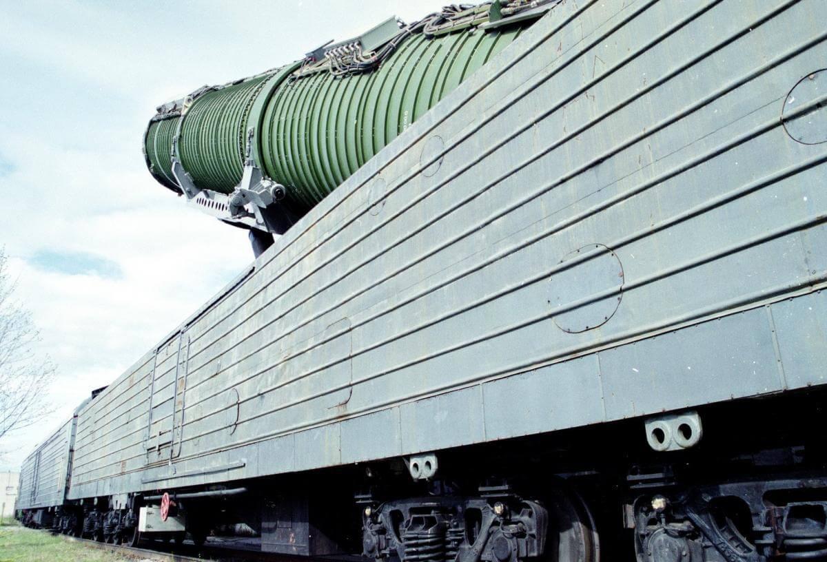 ядерный поезд россии