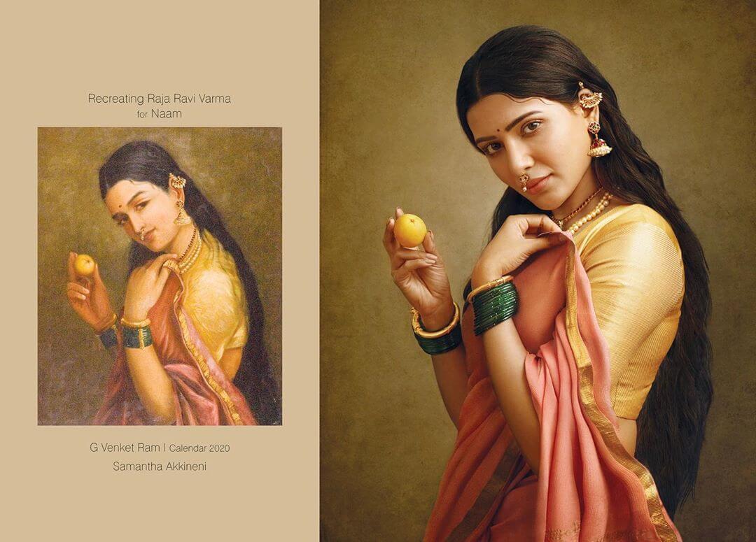 картины 19 века с актерами из Южной Индии