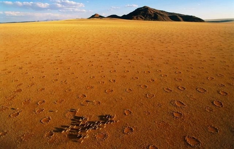 Круги фей в Намибии