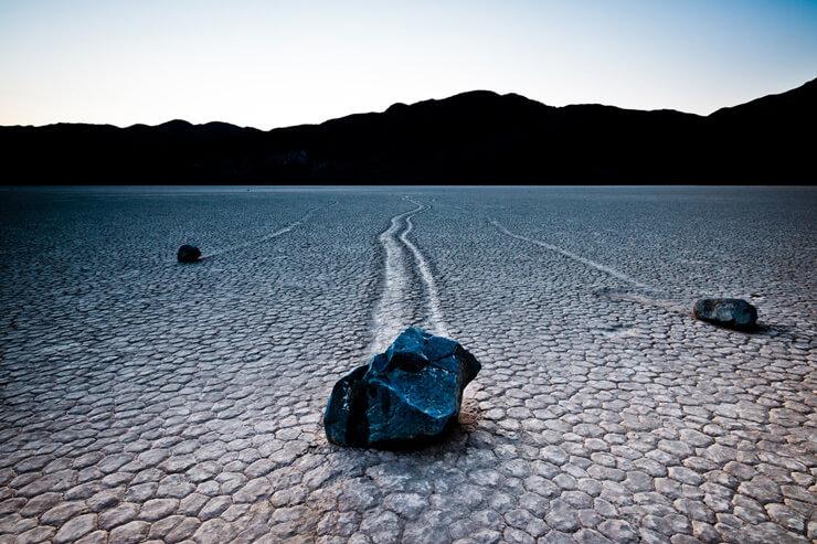 Ползущие камни