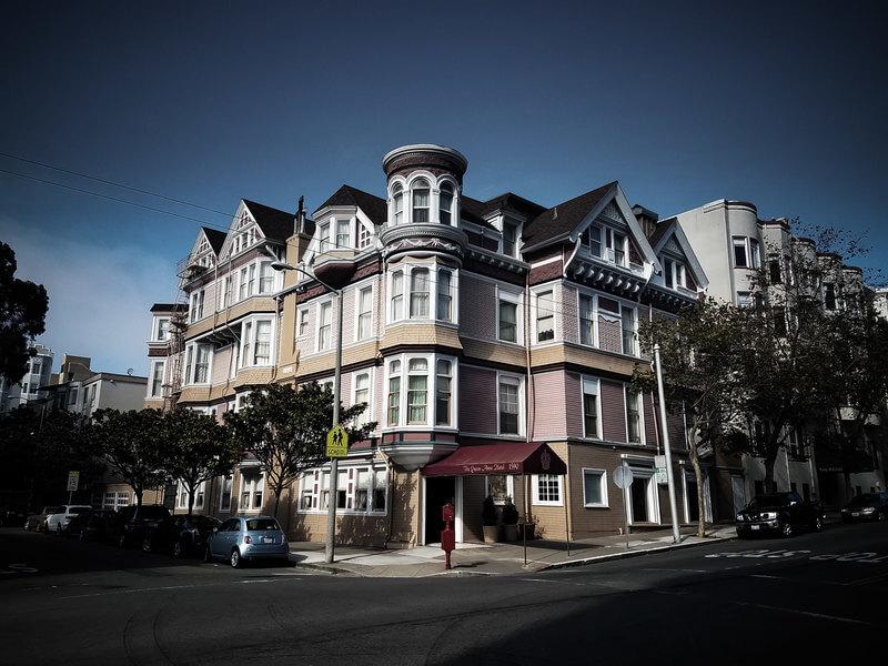 отель формата B&B в Сан-Франциско