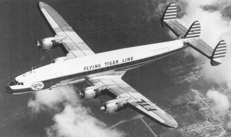 Исчезновение «летающего тигра»: L-1049 над Тихим океаном