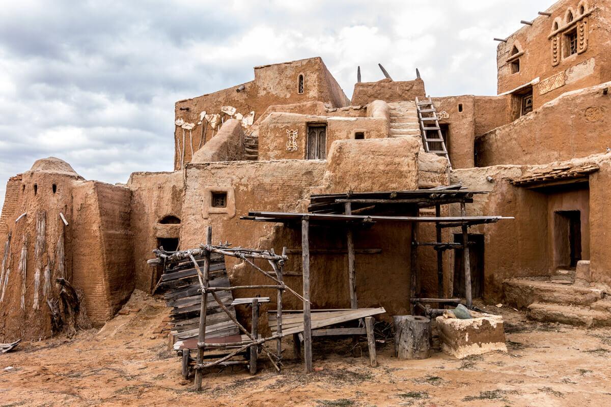 Заброшенный киногород Сарай-Бату