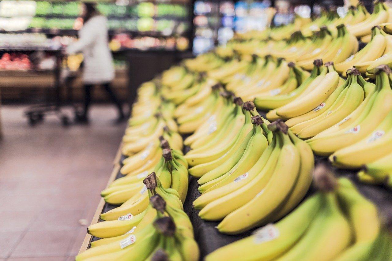 магазин продукты бананы