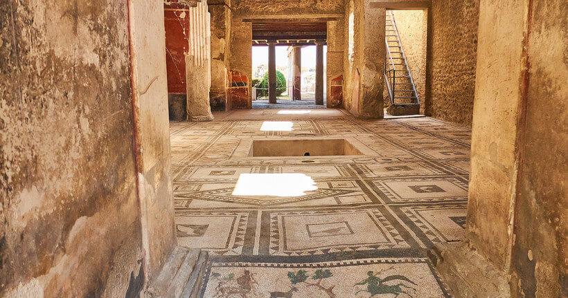 дома жителей Помпей
