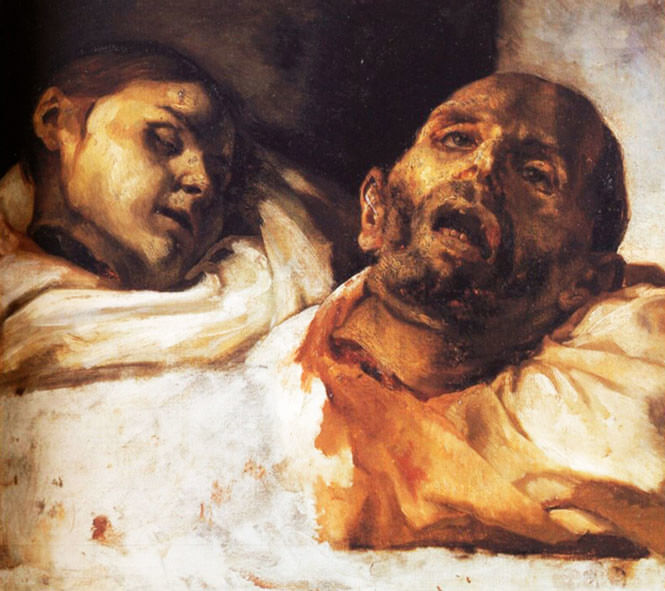 «Отрубленные головы», Теодор Жерико (1818 год)