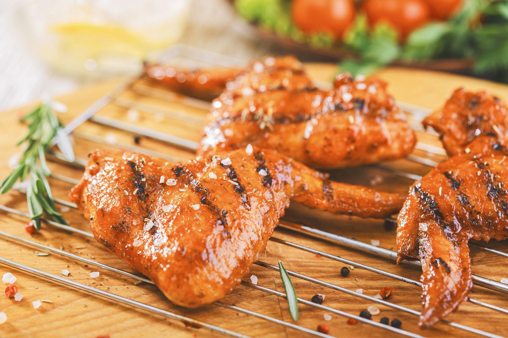 Рецепт крылышек BBQ барбекю