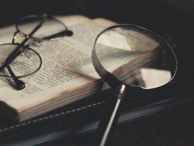 книга очки