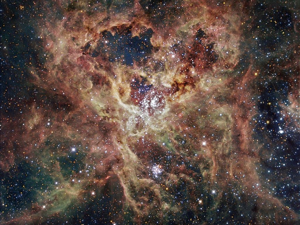 туманность NGC 2070