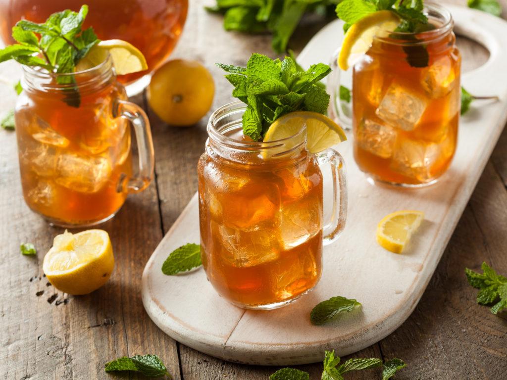 Черный чай с цитрусами