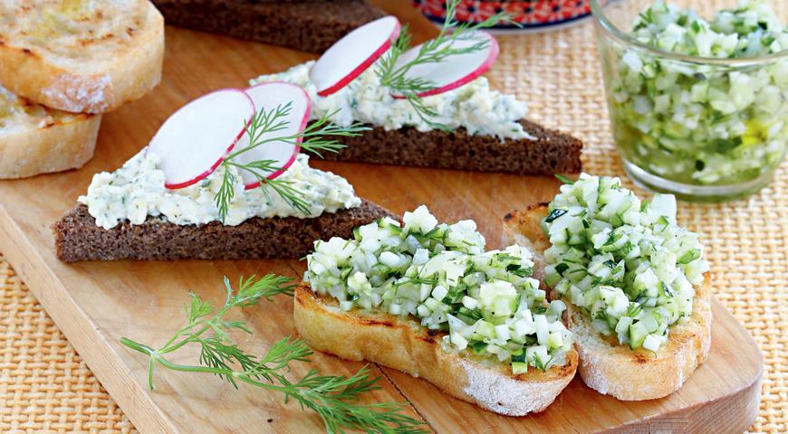летний бутерброд