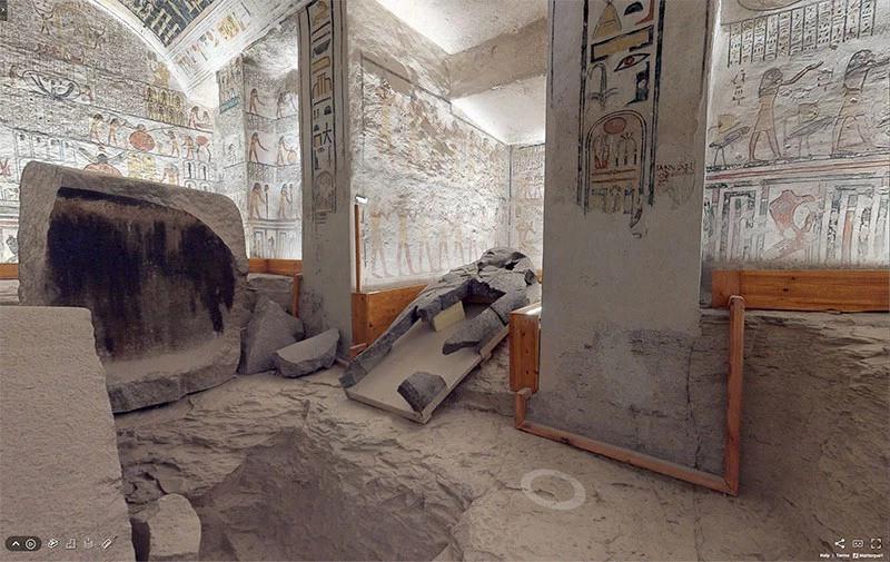 гробница фараона Рамсес VI