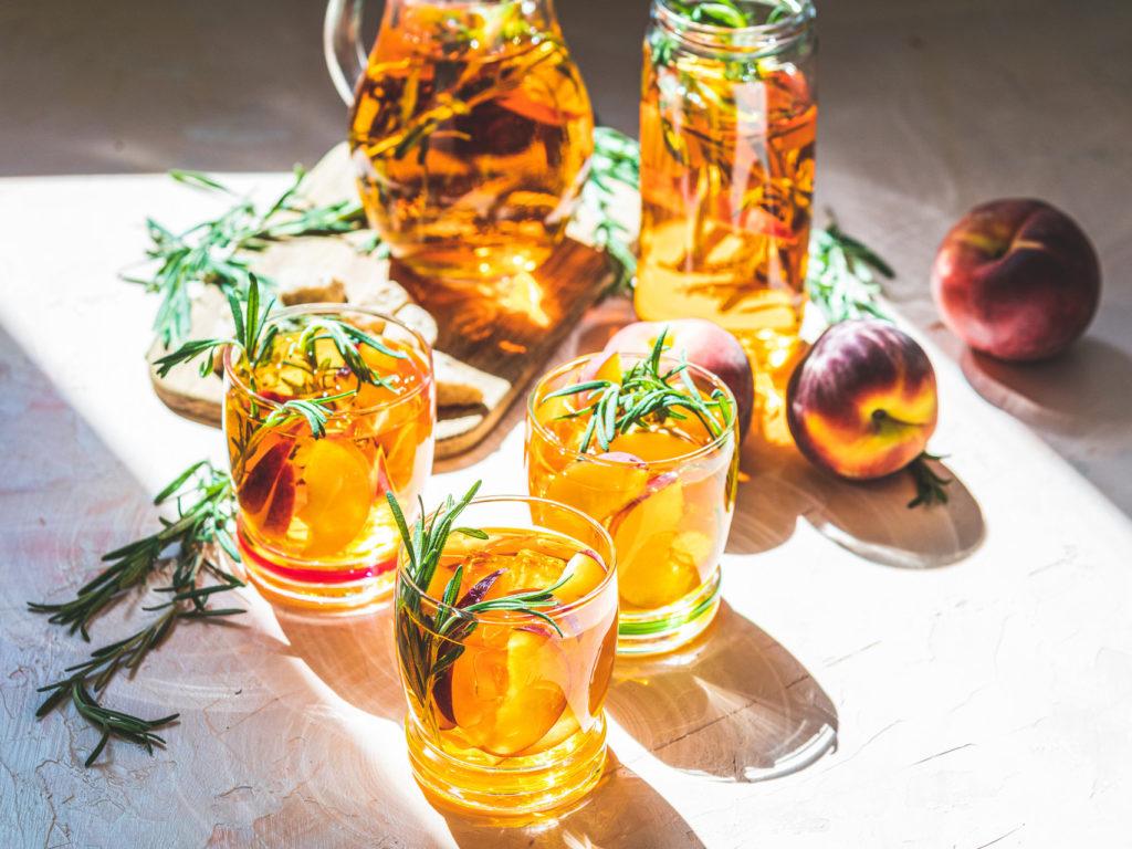 Персиковый Черный чай