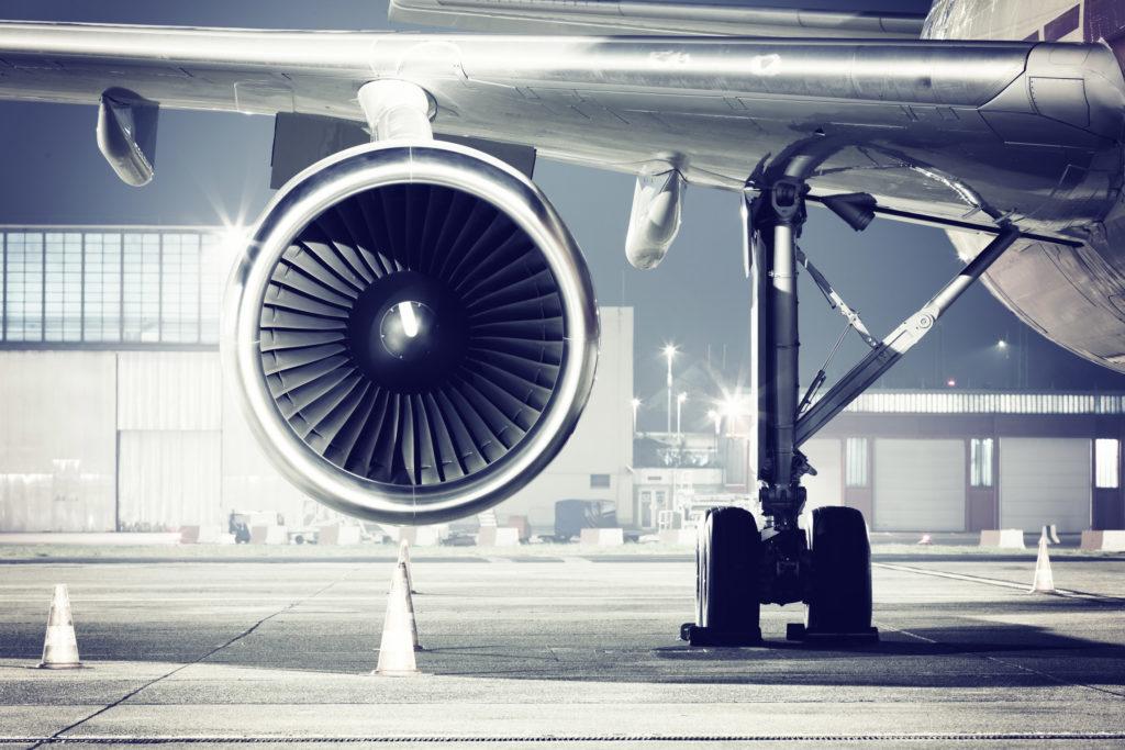 самолет двигатель