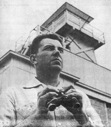 Капитан ВВС США Эдвард Руппельт
