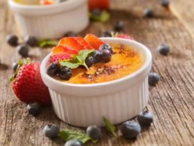 Crème brûlée (крем- брюле)