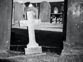 могила крест