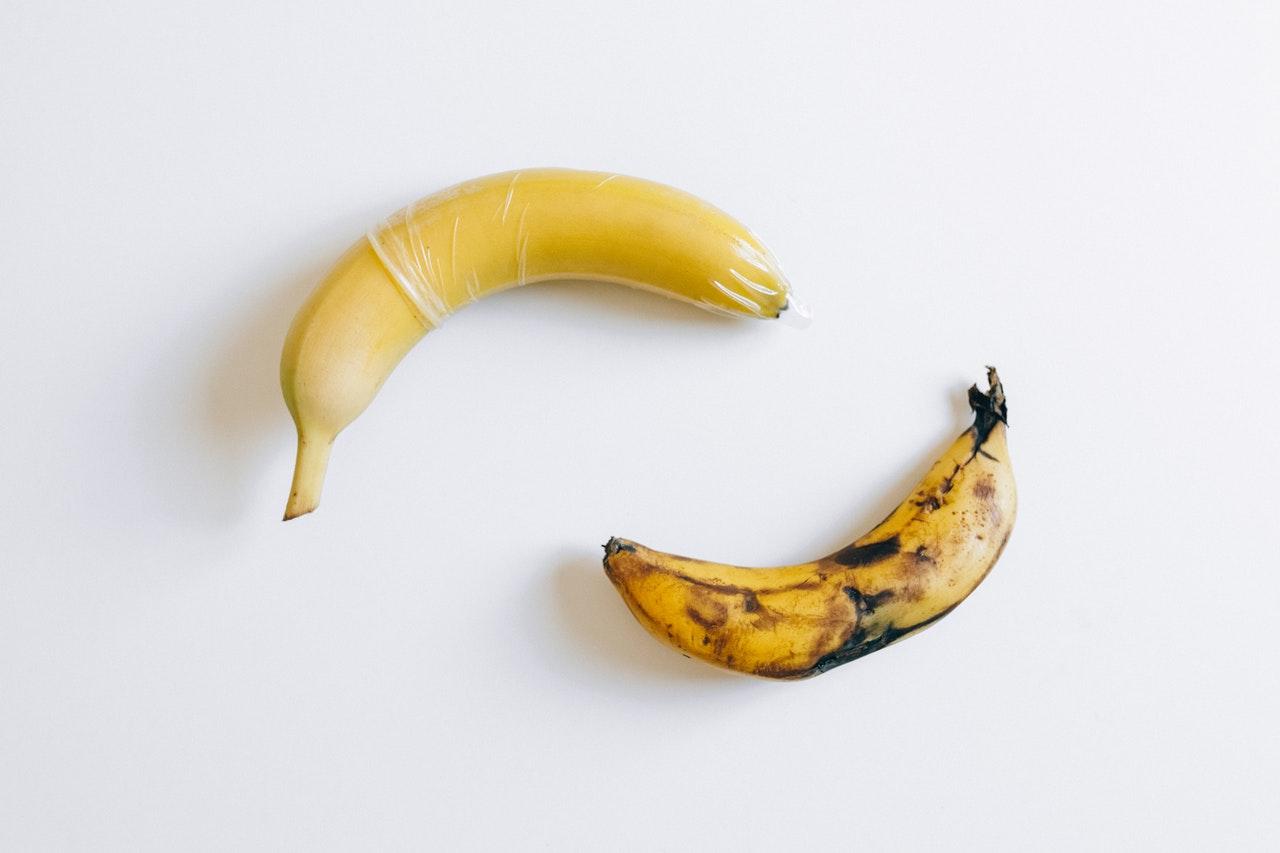 банан презерватив