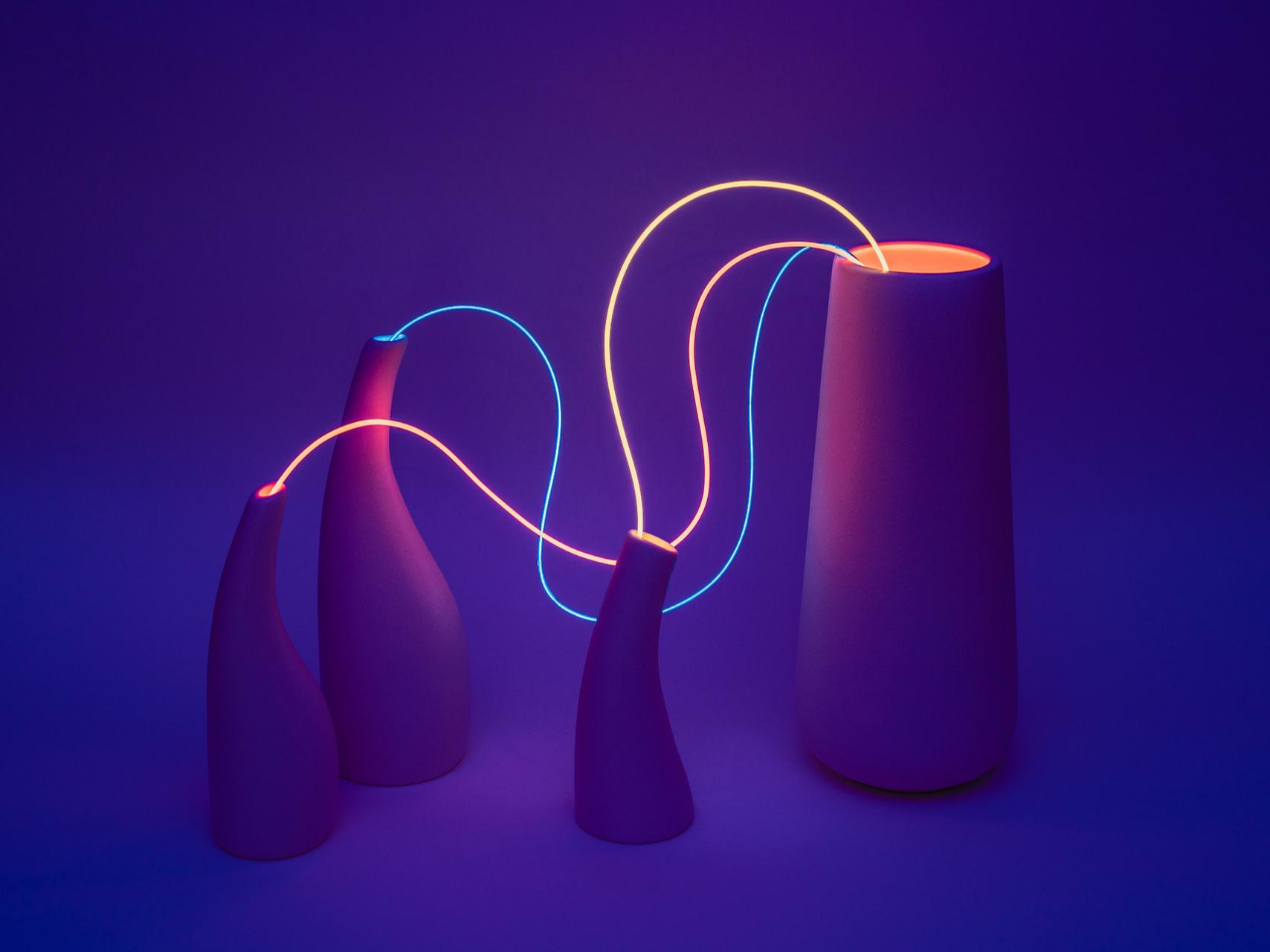 Гибкие неоновые светильники