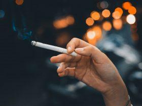 курение сигарета
