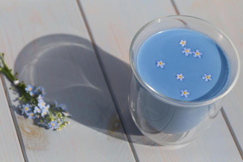 Голубой чай масала