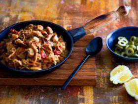 Рецепт солянки с грибами