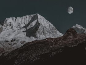 ледник горы