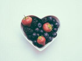 сердце фрукты