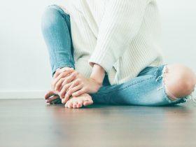 девушка ноги