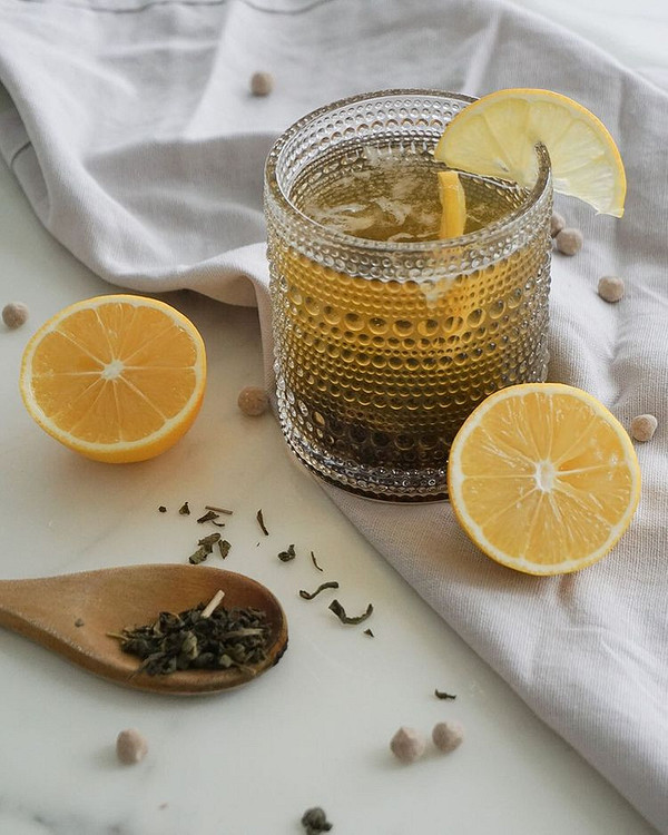 Медовый зеленый чай