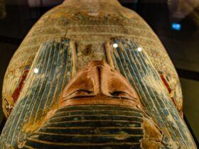 саркофаг мумия