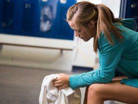 девушка спорт