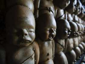 кукла страх