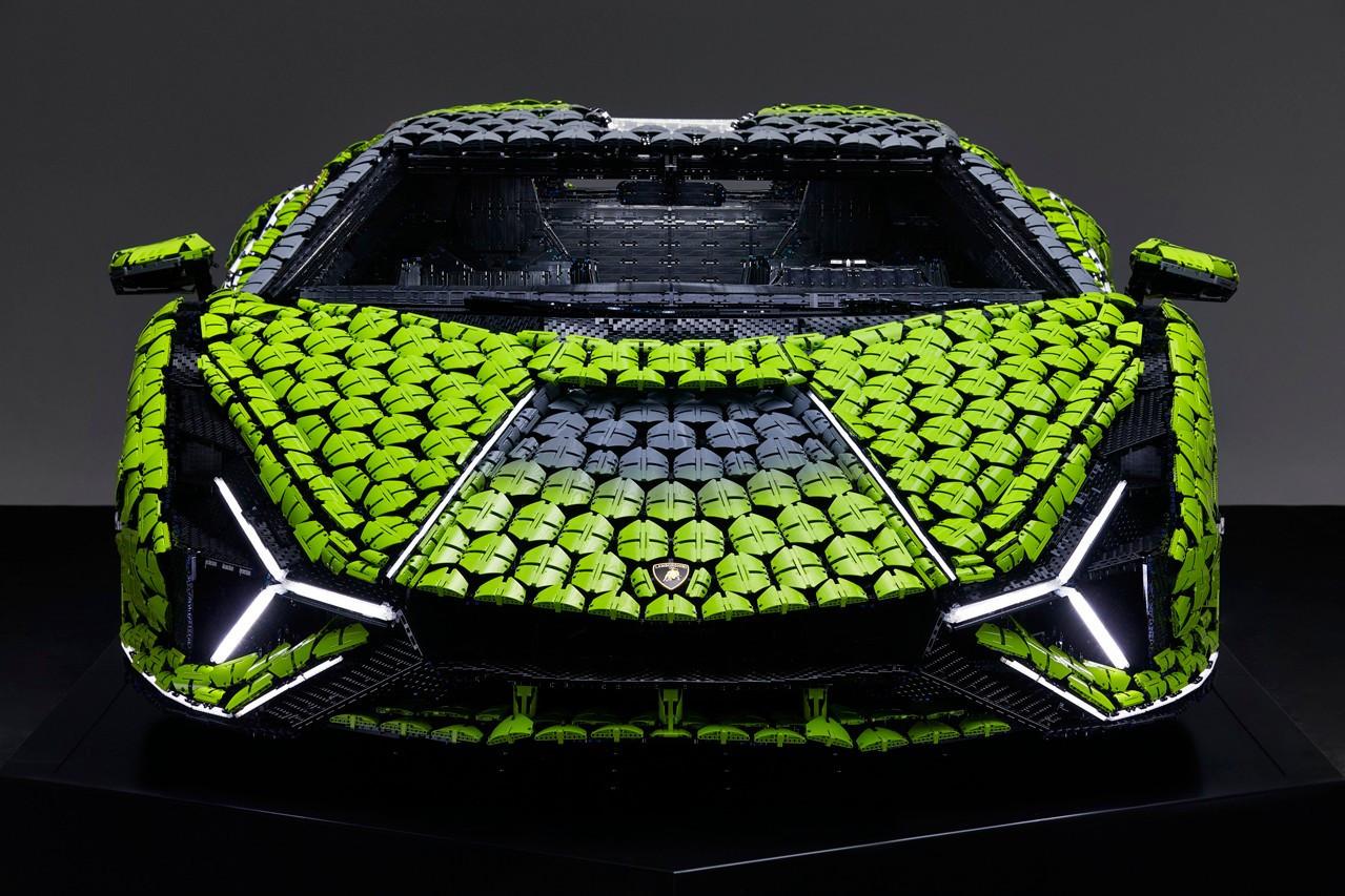 Lamborghini из Lego