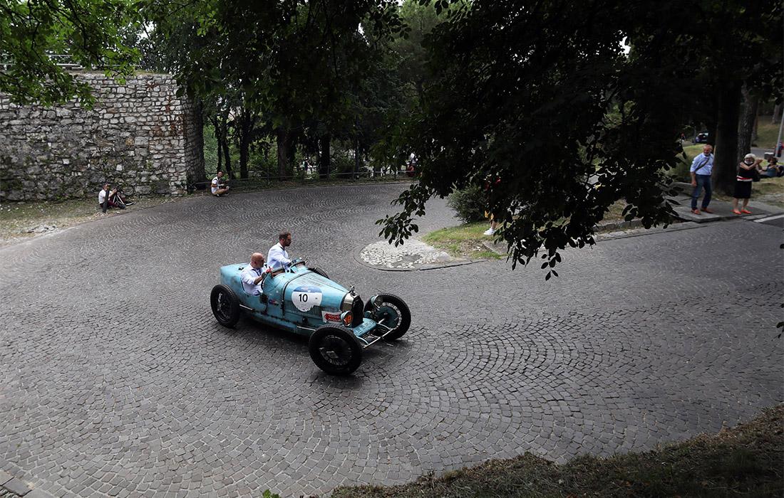 ретрогонка Милле милья в Италии