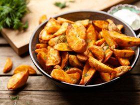 хрустящие острые картофельные дольки