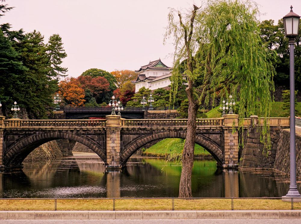 Императорский дворец Токио (Япония)