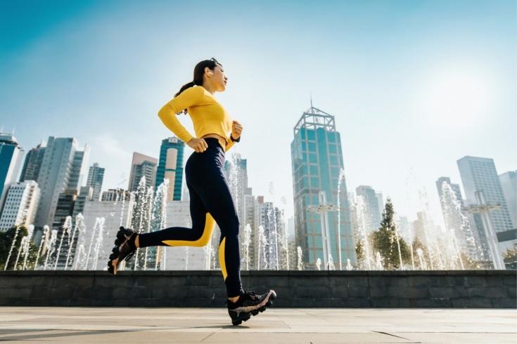 бег спорт фитнес
