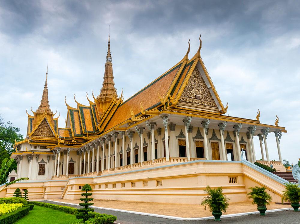 Королевский дворец в Пномпене (Камбоджа)