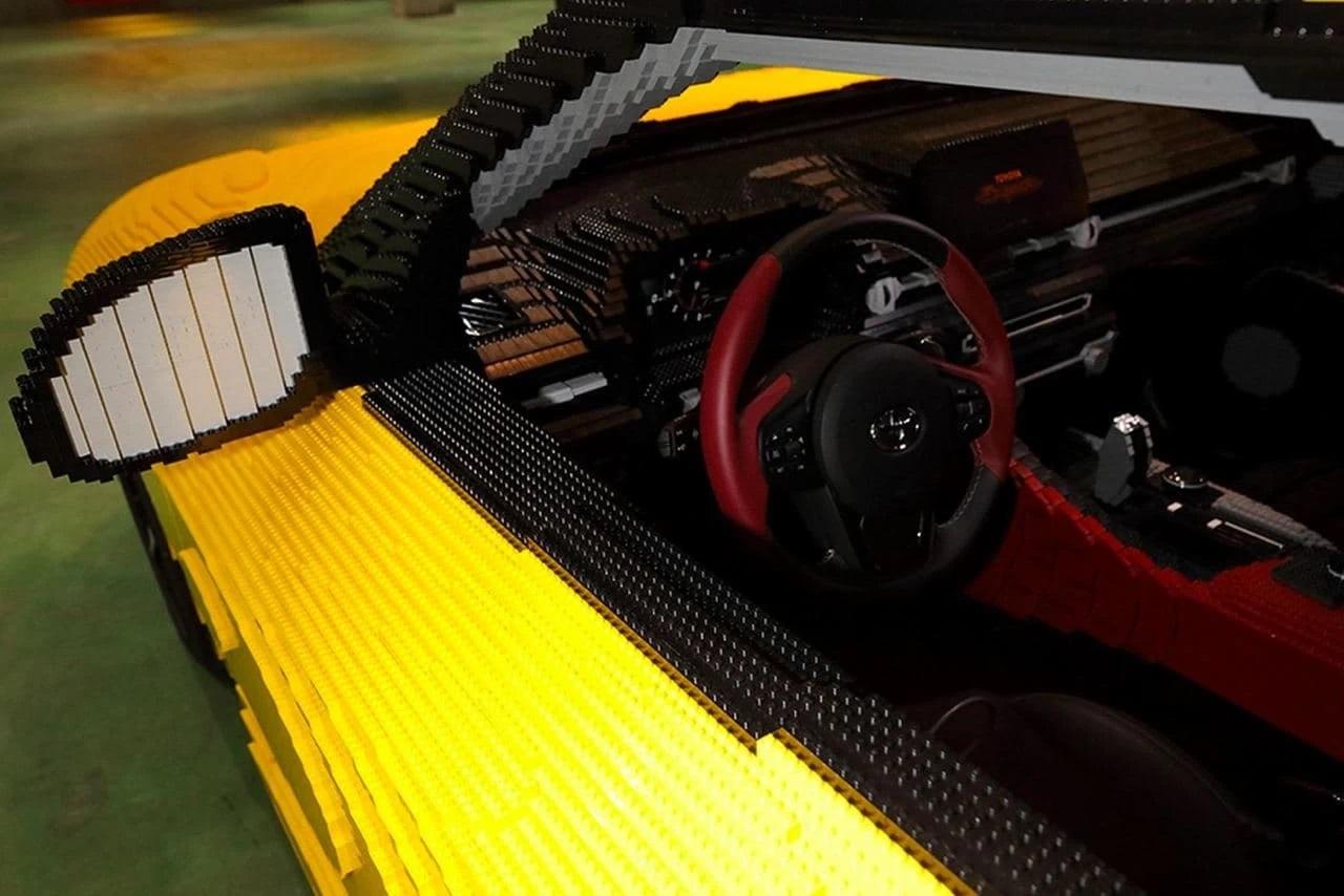 Lego Toyota GR Supra