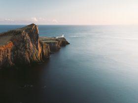 скала море природа