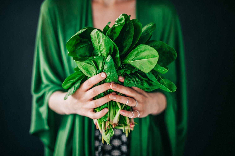 листовые овощи зелень