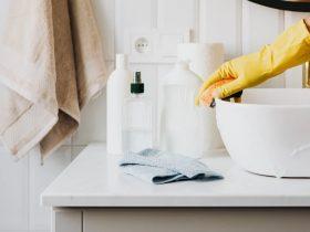 уборка губка для мытья