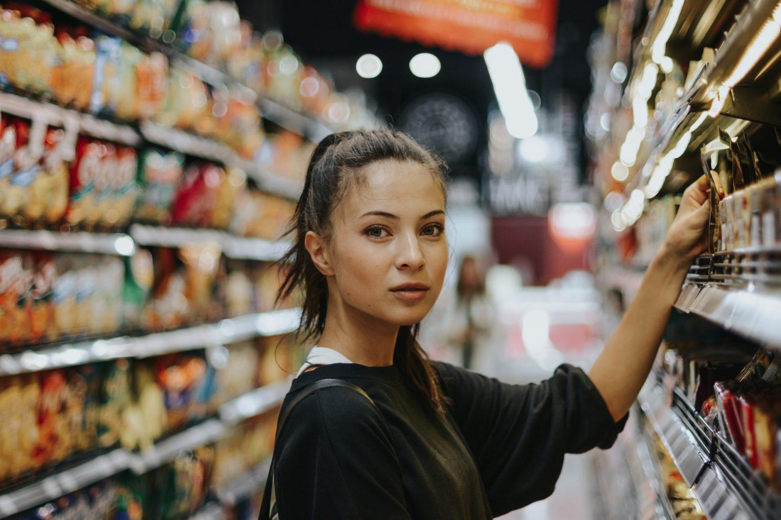 супермаркет магазин