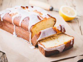 лимонный кекс с ромом