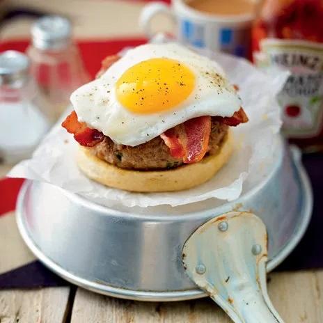 Рецепт бургера к завтраку