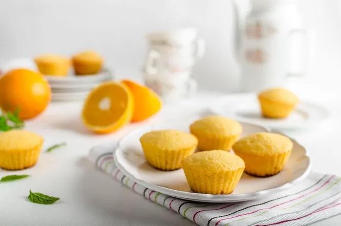 Бананово-апельсиновый кекс