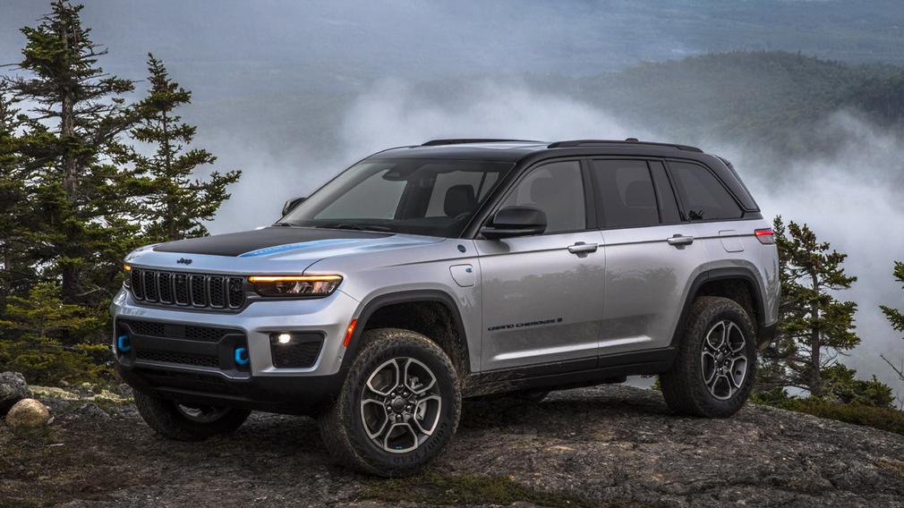 обновлённый Jeep Grand Cherokee 2022