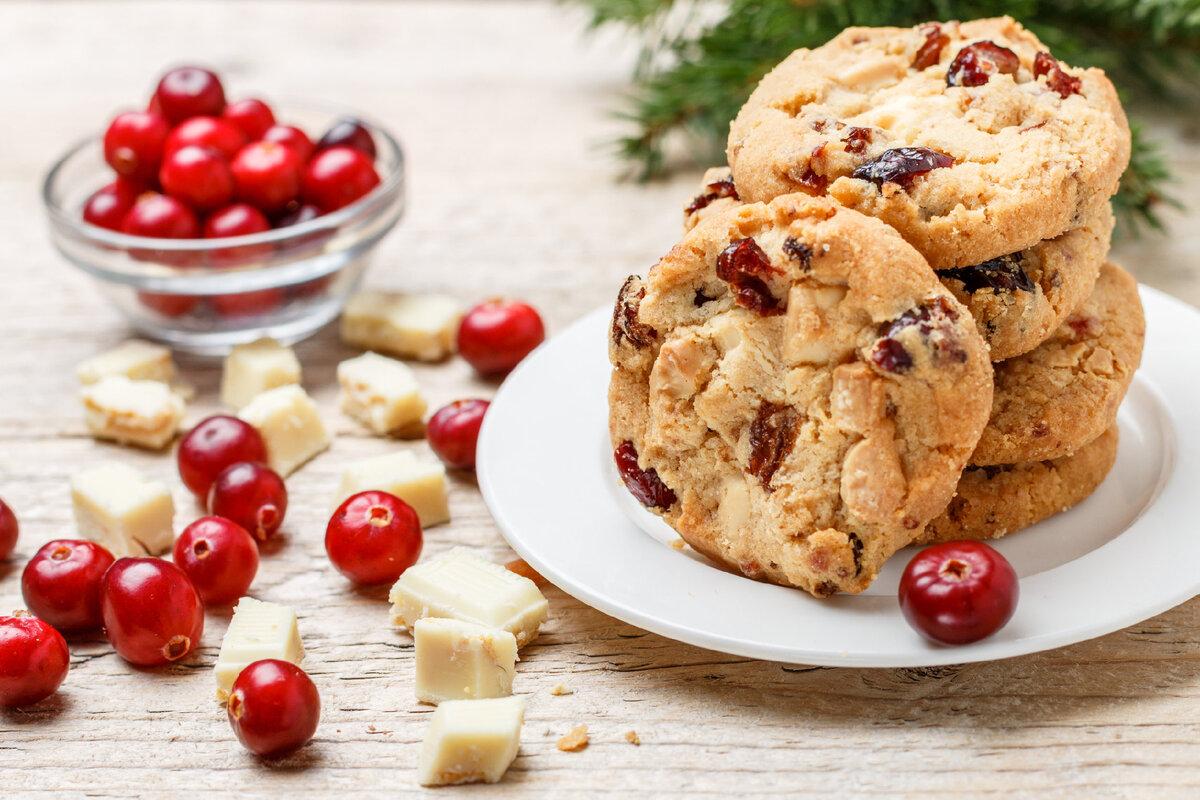 Овсяное печенье без муки с медом и орехами